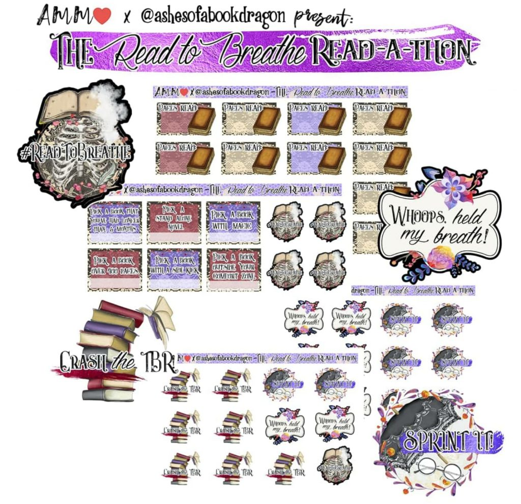 Image to buy Readathon Stickers