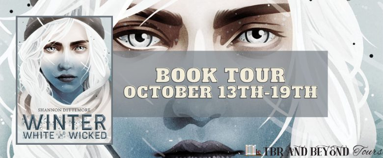 Book tour image for Winter, White and Wicked